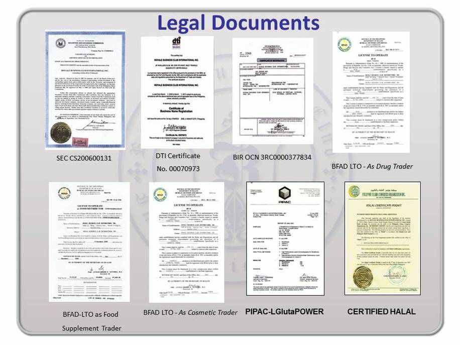 legal documents royale business club international inc - Business Documents
